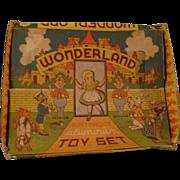 Vintage Wonderland Toy Coffee Set