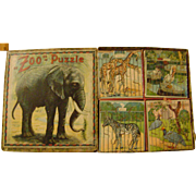 Vintage Zoo Jigsaw Puzzles