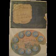Vintage Avon Powder Sample Display