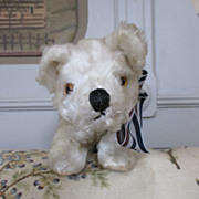 Sweet Polar Bear for Your Vintage or Antique Doll