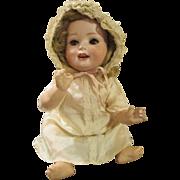 "Sweet 11"" Heubach Koppelsdorf Mold 300 Bisque Head Baby Doll"