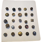 Grouping of Antique Buttons for your Antique Doll Clothes