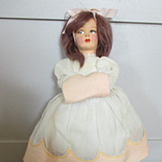 Sweet Lenci-Like Doll - Original Clothing - Nice Condition