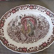 Johnson Brothers - His Majesty - Turkey Platter