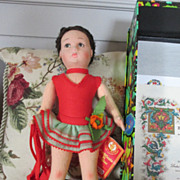 "SOLD Lenci Ballet Dancer - 13"" Tall - In Original Box with COA - Red Tag Sale Item"