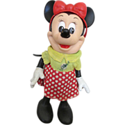 Vintage 1968 Minnie Mouse Doll by R. Dakin for Walt Disney Productions
