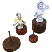 4 Half Doll Stands in Varying Height to Showcase your Half Dolls