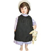 "SOLD Fabulous and Very Hard to Find Maryanne Oldenburg ""Rachel"" Amish Doll - Red Tag"