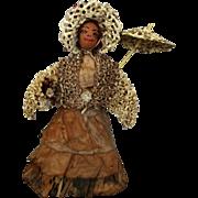 Unique Vintage Nut Head Doll