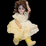 "Sweet 14"" German Bisque Head Doll"