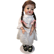 "Endearing Antique 12"" German Compo Head Doll"