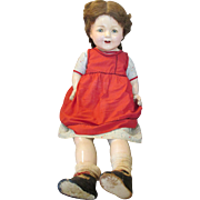 SOLD Very Large Composition Mama Doll