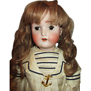 Sensational Kestner 136 Character Child Bisque Head Doll