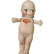 Antique Kewpie with Belly Sticker