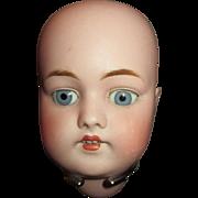 Breathtaking Antique Bisque Kestner 168 Doll Head