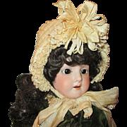 Antique Silk Doll Bonnet