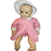 "Vintage Baby Georgene Doll - 20"" Tall and Adorable"