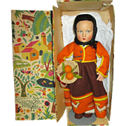 1940's Lenci Doll in Original box with Tags