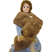 Fur Stole For Your Fashion Doll
