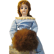 Real Fur Muff for your French Fashion Doll