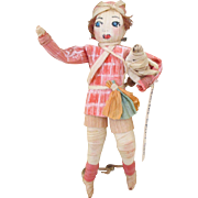 Sensational Corn Husk Doll with Lots of Detail