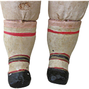 Paper Mache Replacement Doll Legs