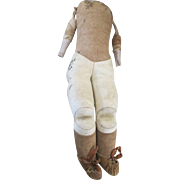 Antique Gusseted Doll Body