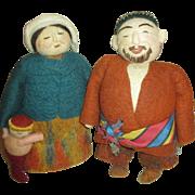 Artist Made Wool Dolls