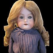 Antique AM DEP Bisque Head Doll