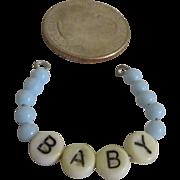 1950's Dy Dee Baby or Tiny Tears Doll Hospital Bracelet