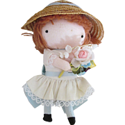 1969 Joan Walsh Anglund Pocket Doll in Original Condition