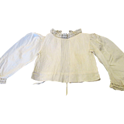 Exquisite Antique Blouse For Your French Fashion Doll