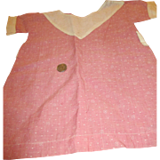 Vintage Cotton Dress For Your Composition Mama Doll
