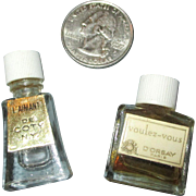 Miniature Perfume Bottles for your French Fashion Doll