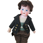 Sweet Heubach Koppelsdorf Boy Doll - Adorable Little Lad