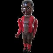 vintage Black Celluloid Boy Doll - Nice Details