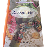 SALE PENDING Ribbon Trims Book for Embellishing Doll Bonnets and Clothes
