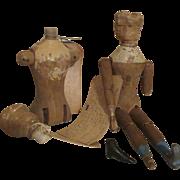 Primitive Joel Ellis and Mason Taylor Doll Parts
