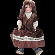 Antique German Bisque Shoulder Head Doll