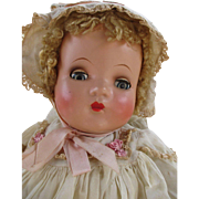 Gorgeous Madame Alexander Composition Baby Doll