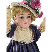 Antique Heinrich Handwerck 119 Bisque Head Doll