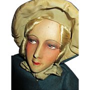 Absolutely Beautiful French Silk Faced Boudoir Doll