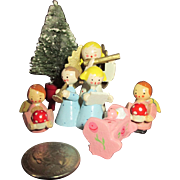 Vintage Christmas Items For Your Doll House - Miniature Christmas