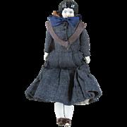 """Tiny 7.5"""" Antique China Head Doll"""