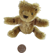 "Tiny 3"" Steiff Bear for Your Antique Doll"
