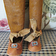 Antique French Fashion Doll Shoes for your Jumeau or Bru