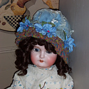 """24"""" German Bisque Head Doll Marked """"AW Special"""""""
