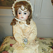Beautiful French Bebe Doll -  FG in Scroll - Stunning