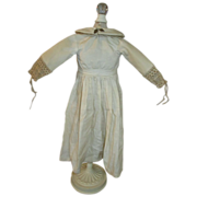 Wonder White Dress for Your Antique Doll