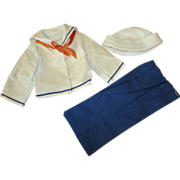 Shirley Temple Sailor Suit - Hat, Blouse, and Pants